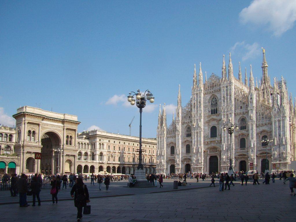 Quartieri di Milano - Piazza del Duomo, centro storico