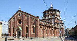 Il passaggio segreto dalla Chiesa di Santa Maria delle Grazie al Castello Sforzesco [fonte imamgine wikimedia]