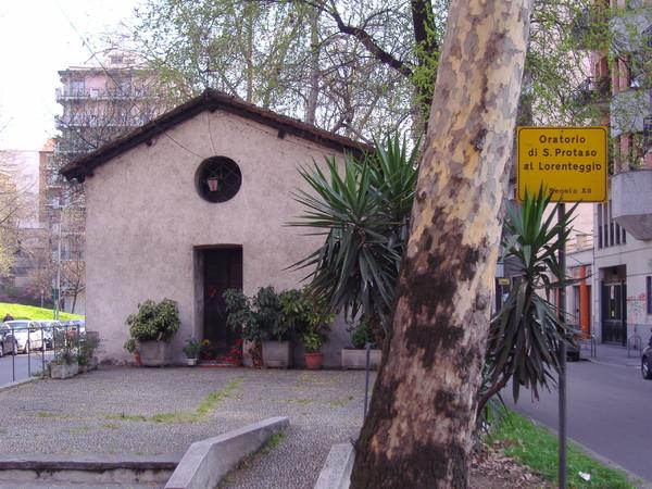 Milano, l'oratorio di San Protaso e il miracolo dell'affresco della Madonna