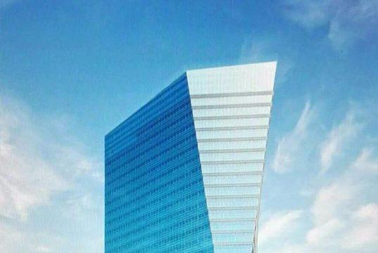 """Una volta il palazzo Inps, ora il grattacielo """"Gioia 22"""" [fonte immagine http://blog.urbanfile.org]"""