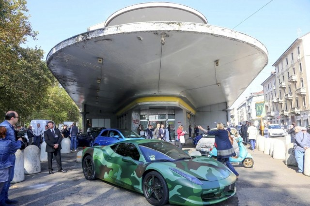 Garage italia a milano lapo e cracco inaugurano la nuova - Garage italia customs piazzale accursio ...