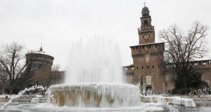 Meteo a Milano: temperature sotto le zero e forti gelate!