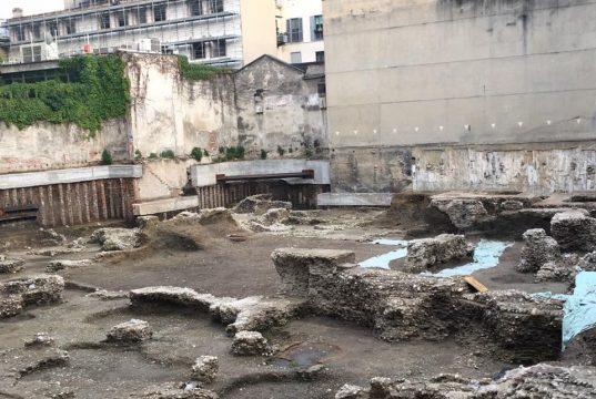 Milano, scavi di via Rovello: alla luce la città romana [fonte immagine www.notizie.it]