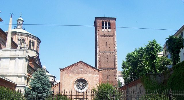 Milano, riapre il Campanile dei Sospiri della Basilica di San Celso, il più antico della città