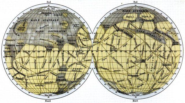 Ritrovata mappa di Marte di Schiapparelli al Politecnico di Milano!