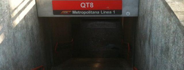 Fermata metro QT8 di Milano, che significa lo strano nome?
