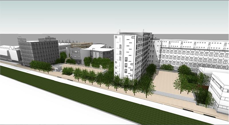Politecnico nuovo campus di via bonardi di renzo piano a for Progetti di renzo piano