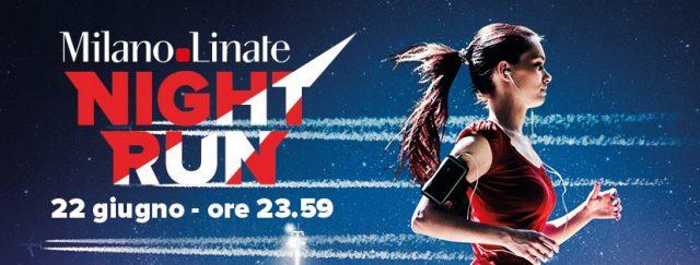 Milano-Linate Night Run: il 22 giugno si corre all'aeroporto!
