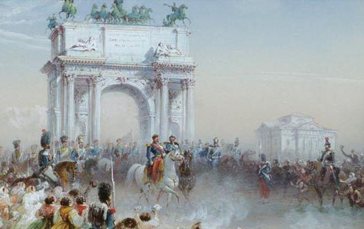 Milano capitale durante il periodo napoleonico: storia e aneddoti