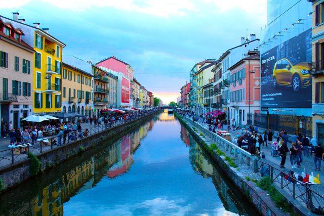 La gibigiana a Milano