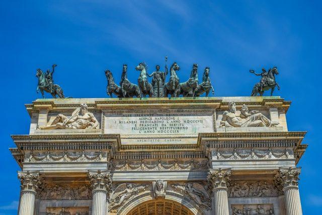 Arco della Pace di Milano: da segno di pace a simbolo dell'indipendenza!