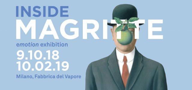 Inaugurazione della mostra di Magritte a Milano: grande festa alla Fabbrica del Vapore