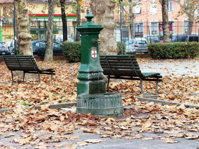 Draghi verdi di Milano : le fontanelle diventano fantasy