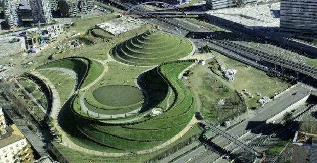 Quartiere Portello a Milano: l'immenso parco urbano