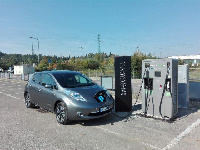 Milano, per le auto elettriche un pieno in venti minuti con la colonnina Fast Recharge
