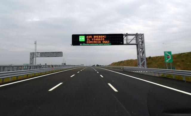 Inaugurato il nuovo tratto autostradale a Milano!