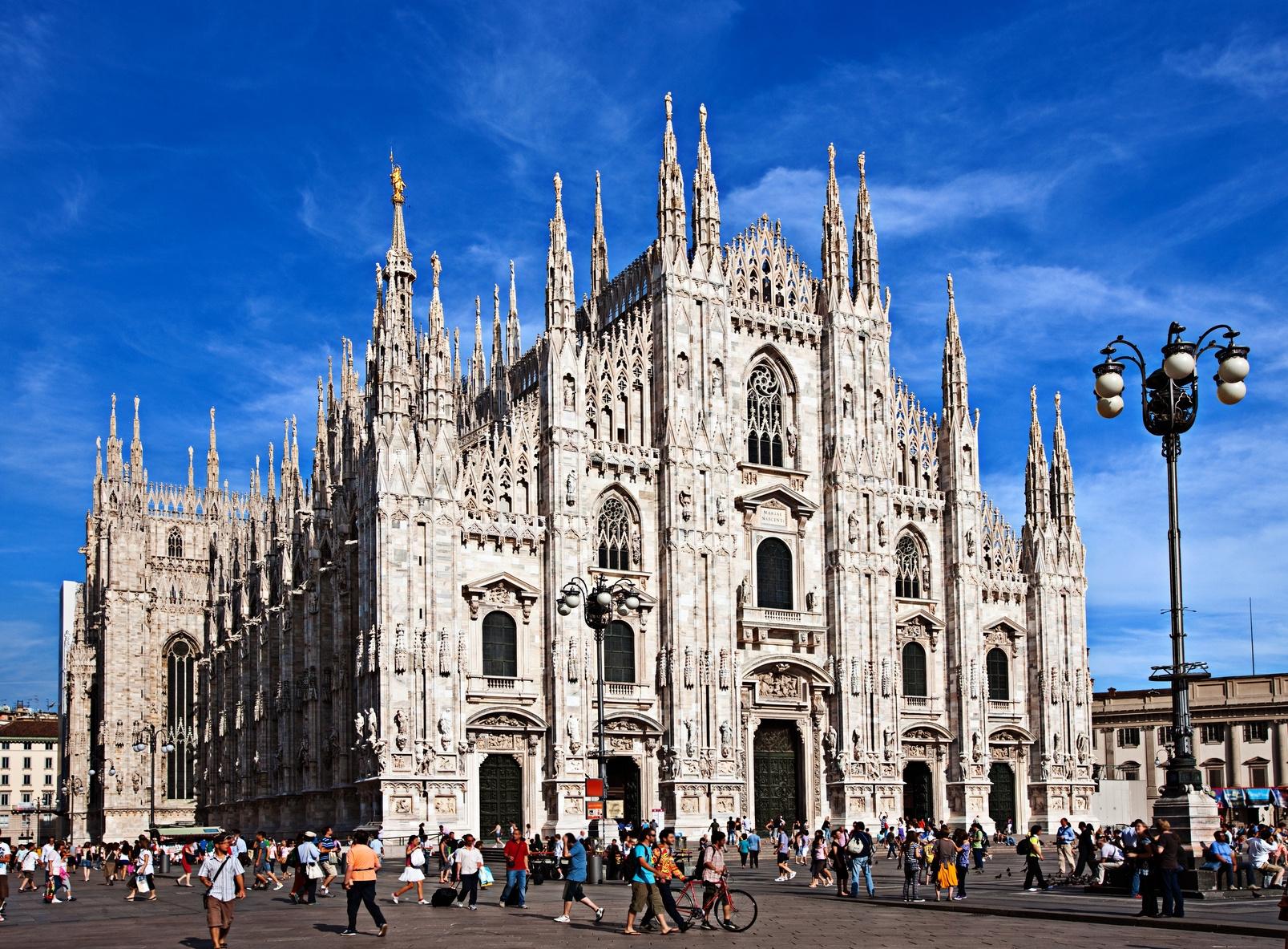 Record caldo Milano