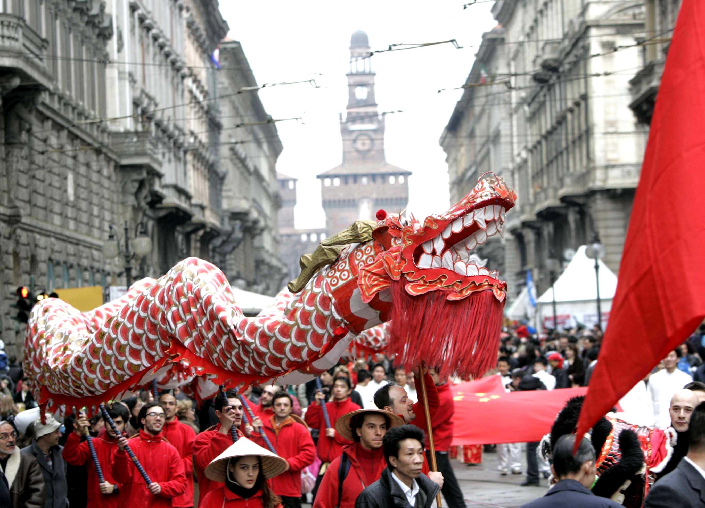 Capodanno Cinese Milano 2018