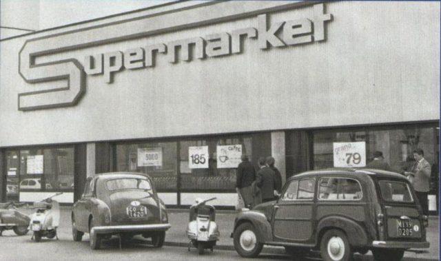 Milano, primo supermercato d'Italia, fu inventato qui!