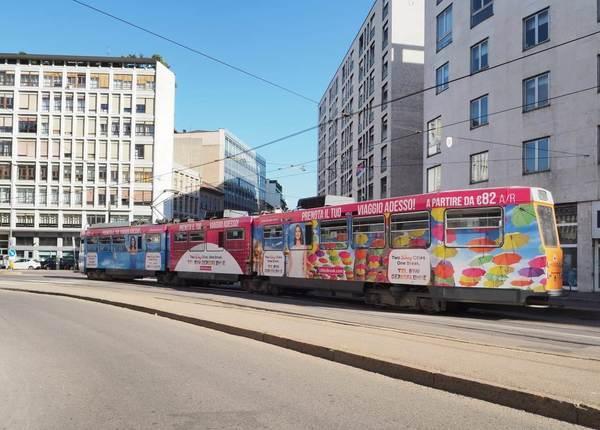 Tel Aviv e Gerusalemme sui tram di Milano per promuovere queste destinazioni!