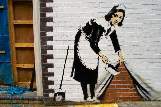 La street art di Bansky a Milano