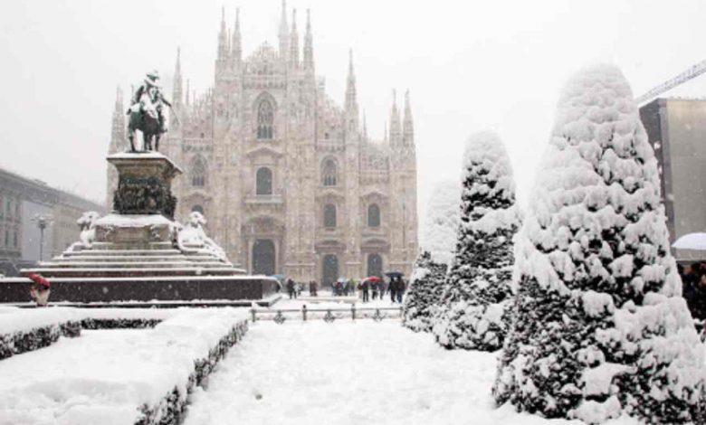 previsioni meteo su Milano per il weekend di San Valentino