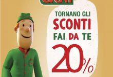 Da CRAI tornano gli Sconti fai da te: 20% di sconto sui prodotti scelti dai clienti